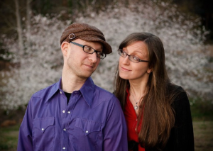 Sunmoon Pie features the duo of singer-songwriters Bonnie Puckett on piano & Michael Levine on guitar.