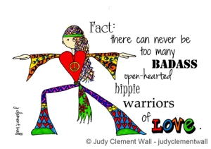 JClementWall YogaHippieWarrior2